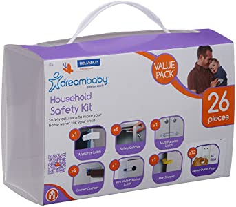 Dreambaby Household Safety Kit - 26 Pieces (White)