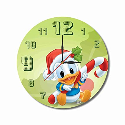 christmas new year ducktales 114 handmade wall clock get unique dcor - Christmas Gift Ideas For Parents Who Have Everything