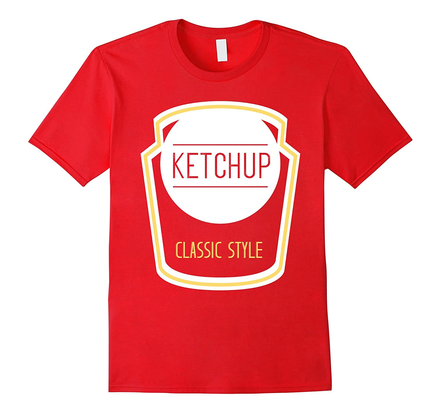 Ketchup Bottle Cute Cheap Halloween Costume Matching Tee-ANZ