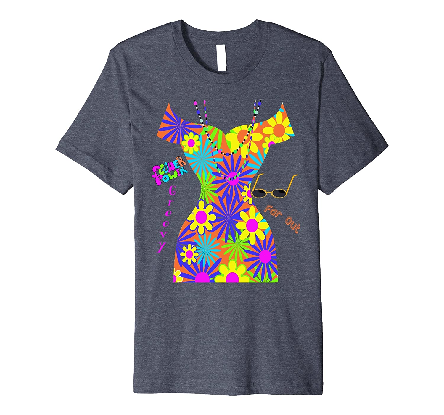 Hippie Chick Halloween Costume T-Shirt