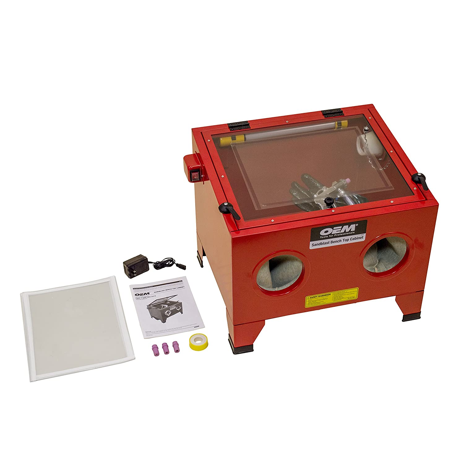 amazon oemtools dp cabinet sand top bench abrasive com blast