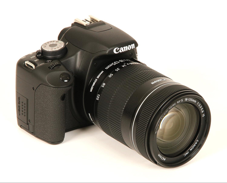 Canon EOS 500D - Cámara Réflex Digital 15.1 MP (Objetivo 18-135mm ...