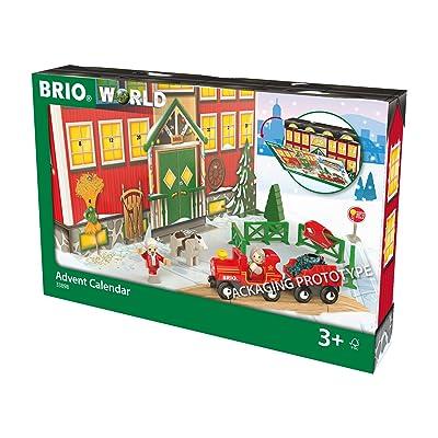 Brio World 33898 - Calendario de Adviento: Juguetes y juegos