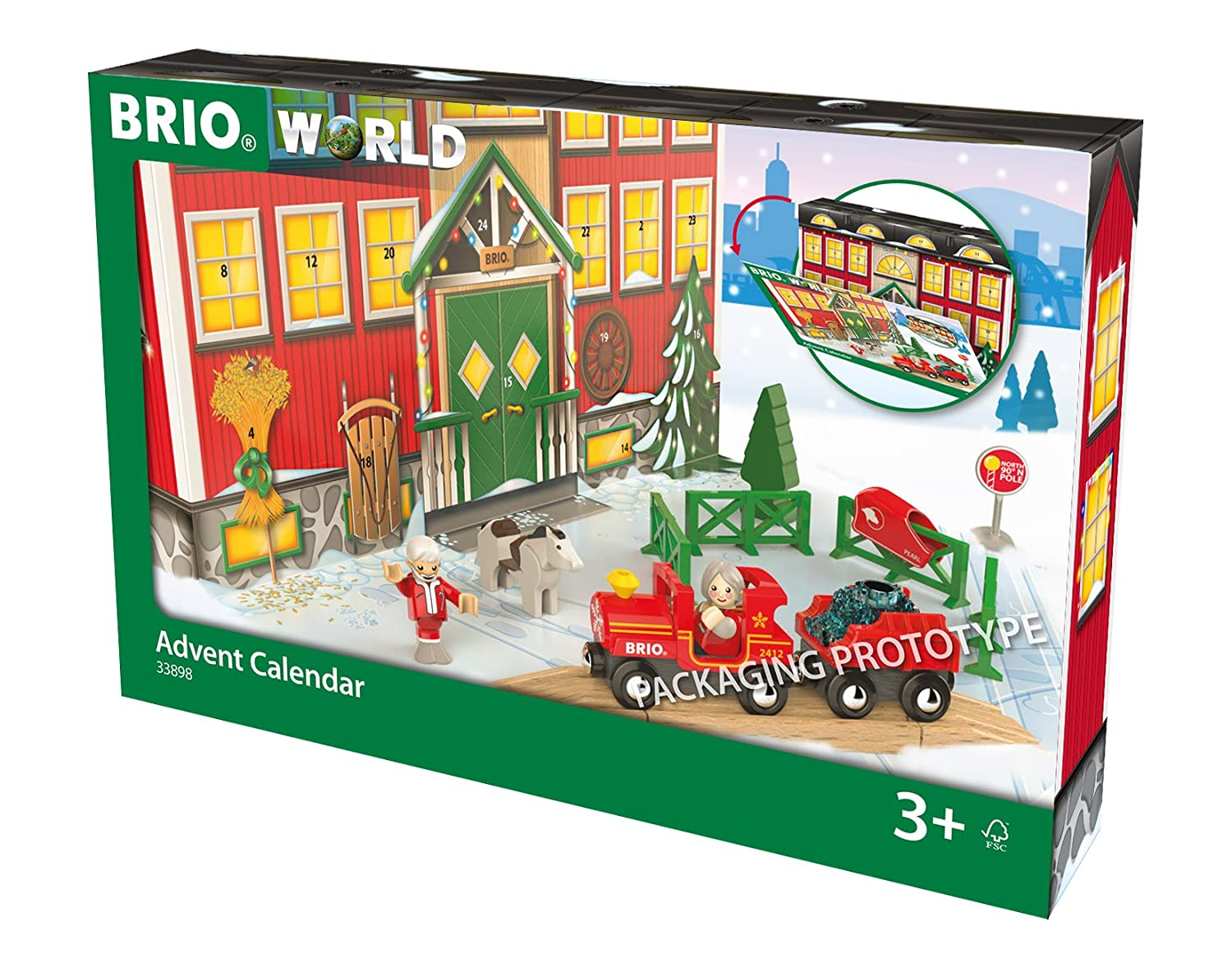 Brio World 33898 – Calendario de Adviento