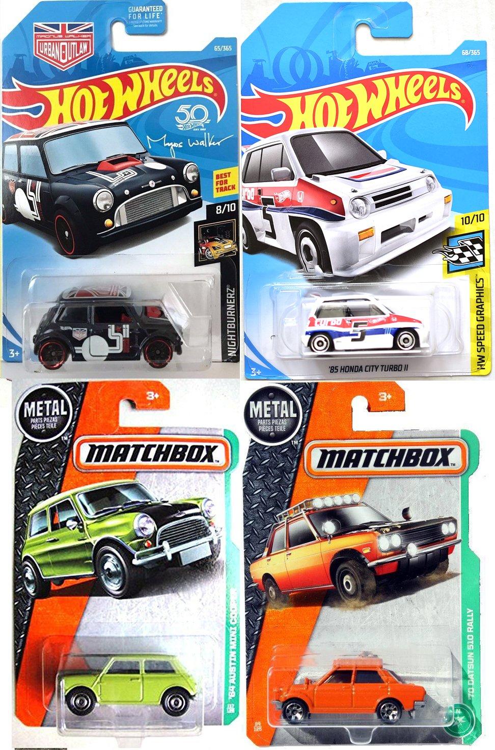 Galleon Mini City Car Collection 2018 Hot Wheels 85 Honda Turbo