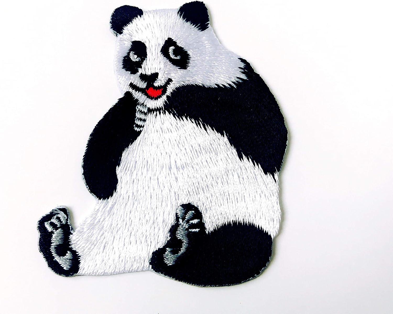 Parche bordado con diseño de oso panda de la marca Tyga Thai, para ...