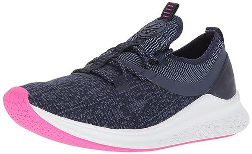 New Balance Womens Lazr v1 Sport Running Shoe, Vintage Indigo/Pigment/White Munsell