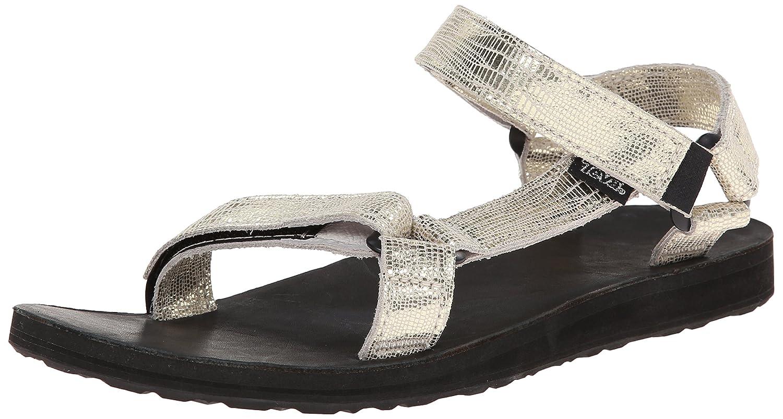Teva Women's Original Univ Metallic Sandal B00KXA8UZ4 9 B(M) US|Gold