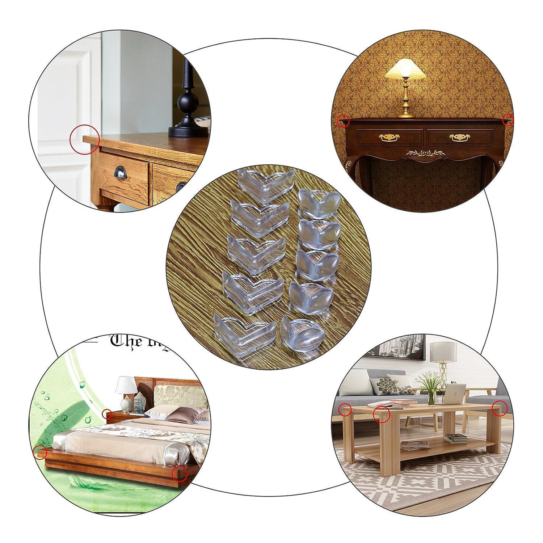 24 pcs coin de table protection kakoo protege angle b b. Black Bedroom Furniture Sets. Home Design Ideas