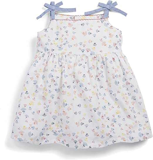 Mamas /& Papas Baby-M/ädchen Frill Grey Legging