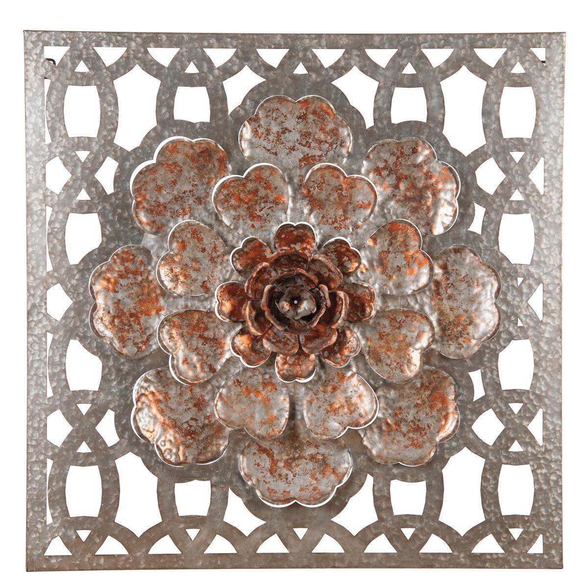 Amazon.com: Foreside Home and Garden Flower Window Pane, 35.75 x ...