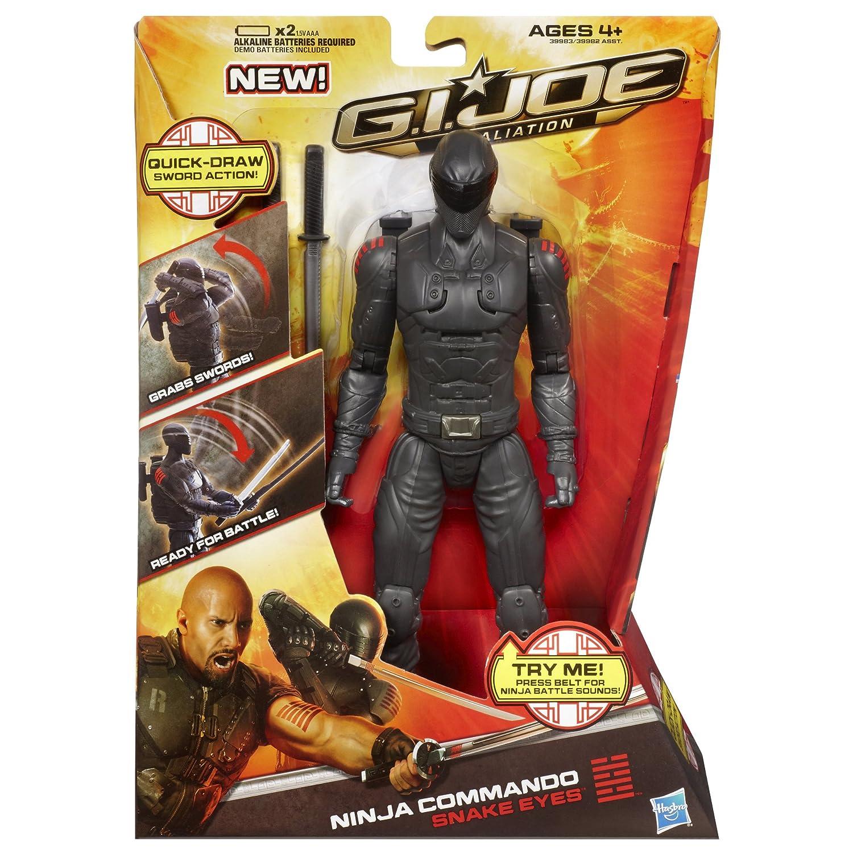 G.I. Joe Retaliation Ninja Commando Snake Eyes Figure by ...