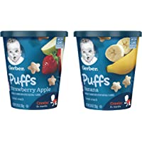 16-Count Gerber Puffs Cereal Snack Cup Pack