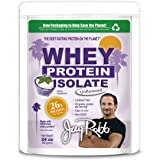 Jay Robb - Grass-Fed Whey Protein Isolate Powder, Outrageously Delicious, Unflavored, 23 Servings (24 oz)