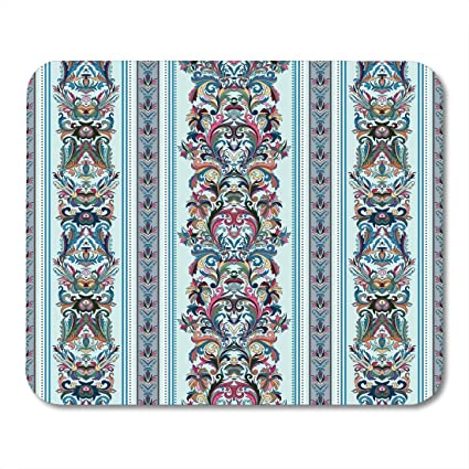 Amazon.com : Mouse Pads Pink Interior Vintage Royal ...