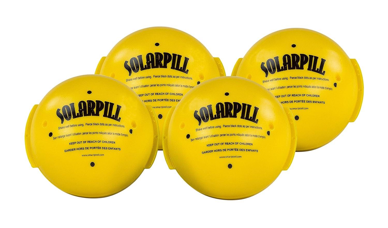 Aquapill Solar Pill Liquid Solar Blanket for 12,000 gallons Pools(Various Pack Sizes) (4)