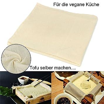 Panno natural de 100% algodón, filtrar para alimentos (horchata de almendras o soja
