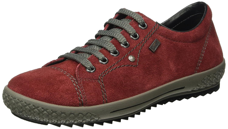 Rieker M6104 - Zapatillas para Mujer 41 EU Rojo (Wine/36)