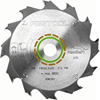 Festool Panther-sågblad PW12, cirkelsågblad med 12 tänder, tandform PW, spånvinkel 20°, lämplig för TS 55/TSC 55/ATF 55…