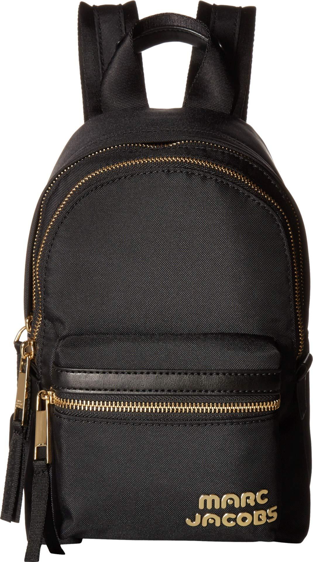 Marc Jacobs Women's Mini Backpack, Black, One Size