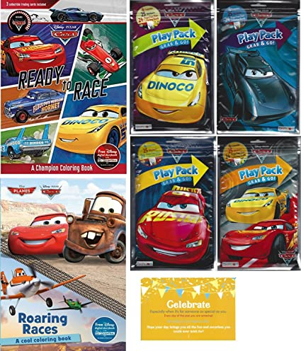 Amazon.com: Disney Cars and Planes Coloring Experience, One Cars ...