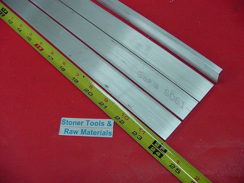 "16 pieces 1//4/"" X 1//2/"" ALUMINUM 6061 T6511 FLAT BAR 10/"" long .250/""x .5 Mill Stock"