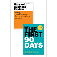 """The First 90 Days with Harvard Business Review article """"How Managers Become Leaders"""" (2 Items)"""