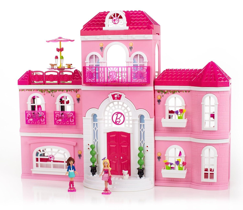 Amazon Mega Bloks Barbie Luxury Mansion Toys & Games