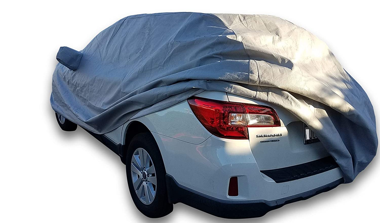 DMB Pro Outdoor Car Cover for 2010-2020 Subaru Outback Outdoor Car Body Cover Custom Fit All Weather Waterproof Heavy Duty