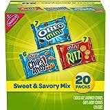 Nabisco Sweet & Savory Mix Variety Pack, OREO Mini Cookies, Mini CHIPS AHOY! Cookies, and Mini RITZ Crackers, Halloween…