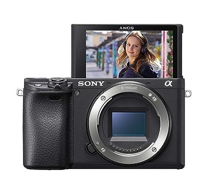 Sony α6400 - Cuerpo de cámara sin espejo compacto con montura E ...
