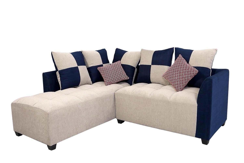Muebles Casa Cornett CASA025 Five Seater Sofa (Grey And Blue)