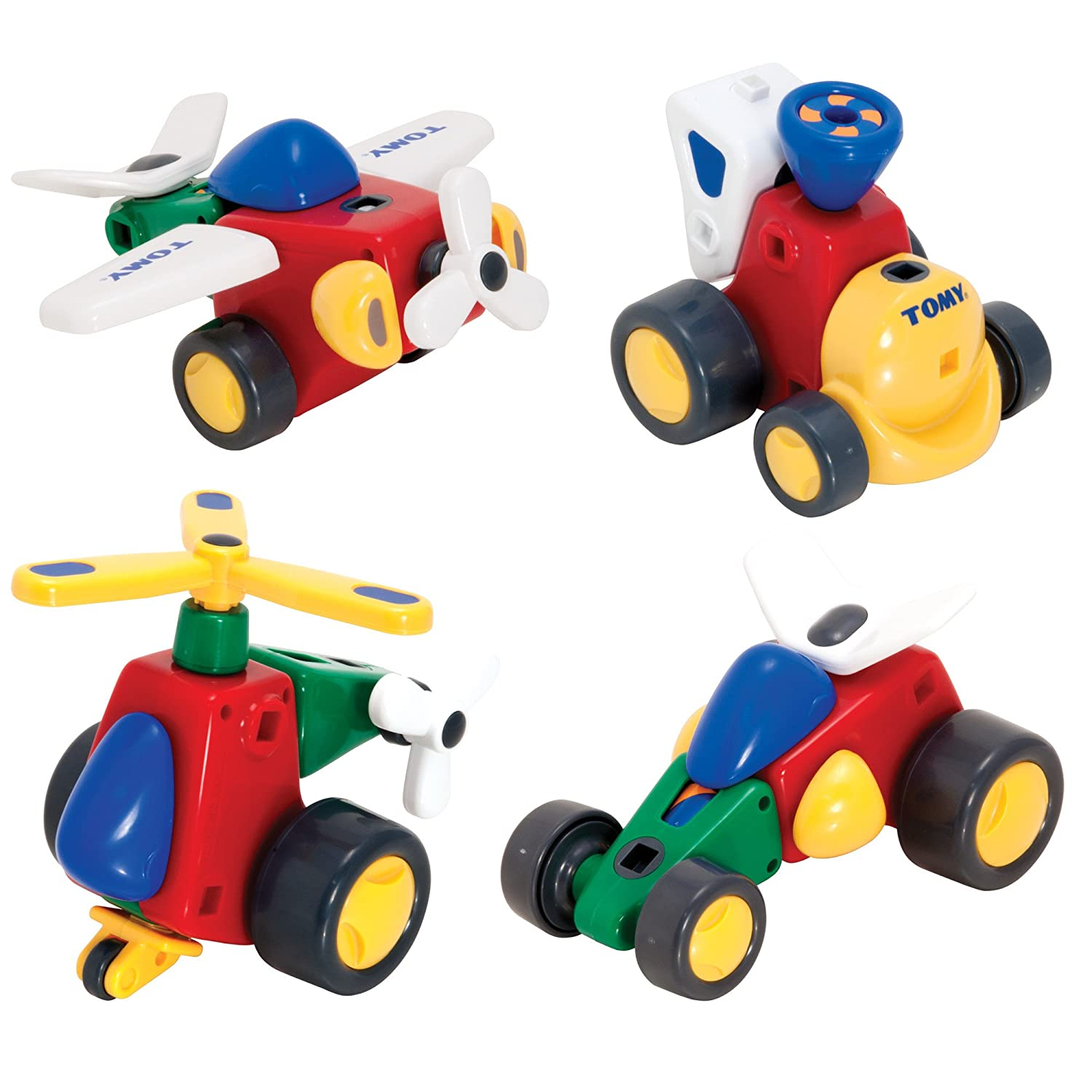 Amazon.com: Tomy Constructables Vehicles: Toys & Games