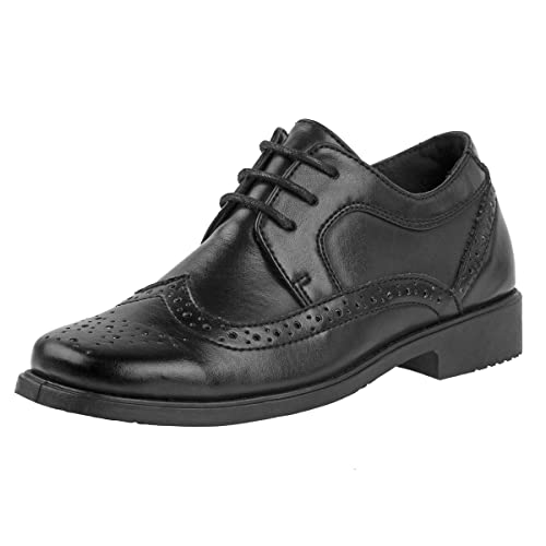 c274930f83140 Amazon.com | Josmo Kids' Boys Dress Shoes with Laces Oxford ...