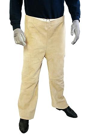 WKS 518201 soldar Pantalones, marrón, L: Amazon.es: Bricolaje y herramientas