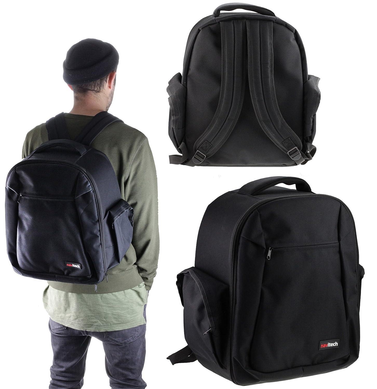 54aca73af192 Navitech Rugged Black Backpack / Rucksack For The Yuneec Tornado H920