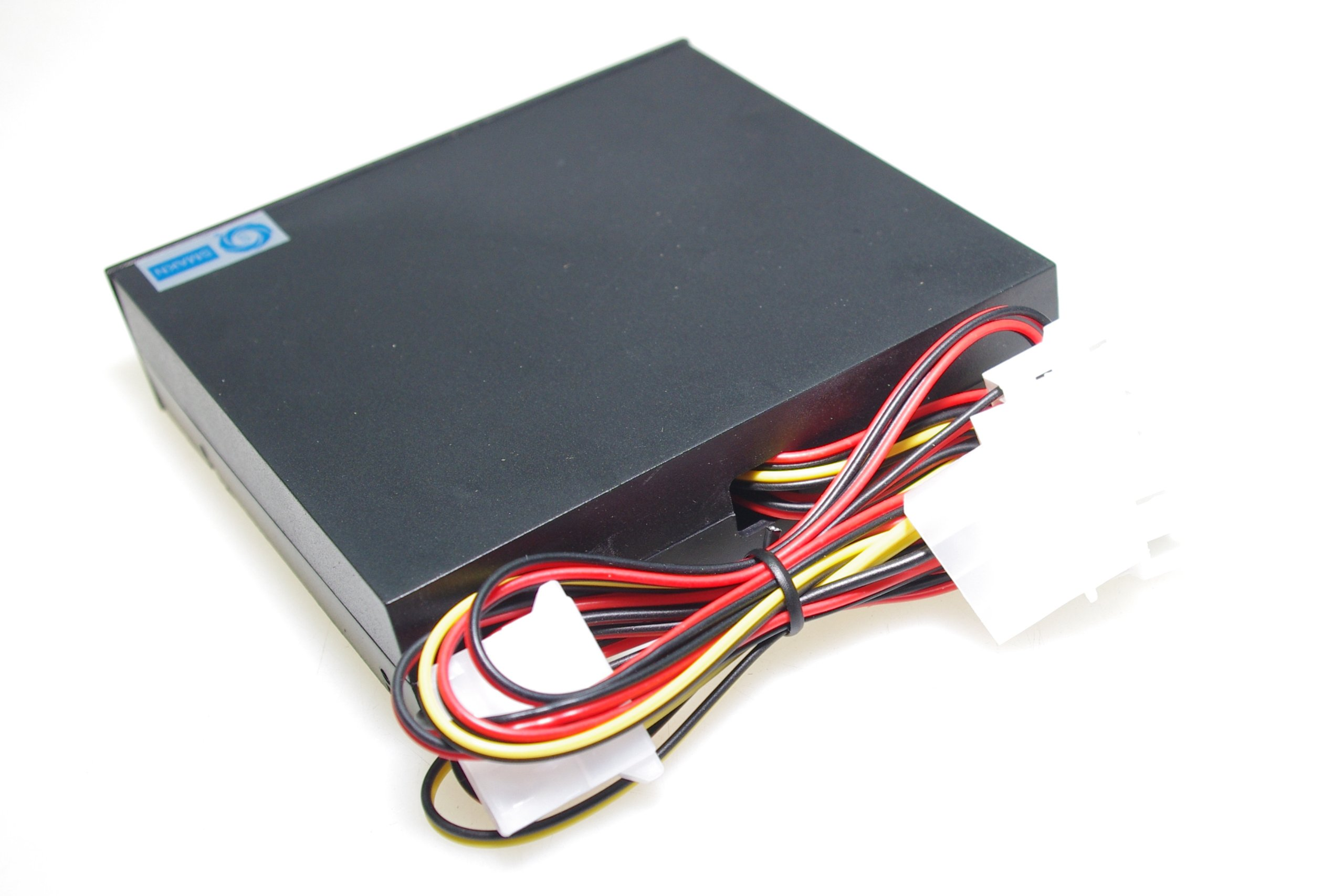 SMAKN® 3.5'' Pc Cpu Hdd 4 Channel Fan Speed Controller Control Led Cooling Front Panel by SMAKN (Image #2)