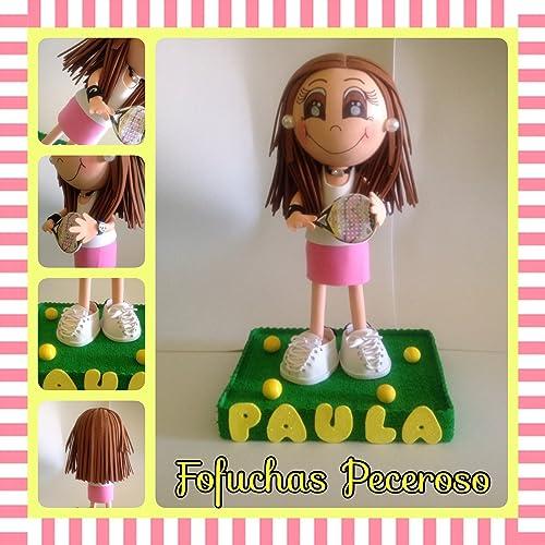 FOFUCHA PERSONALIZADA PADEL: Amazon.es: Handmade