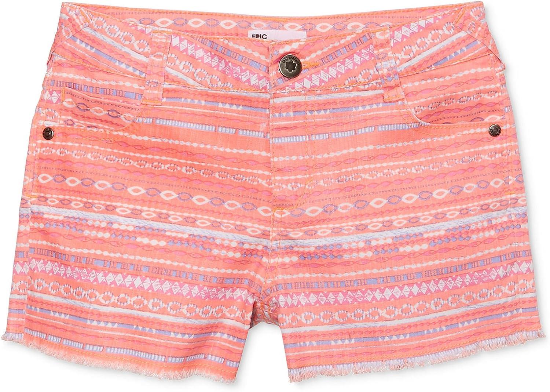 7-16 Epic Threads Big Girls Skinny-Fit Cutoff Shorts Multi
