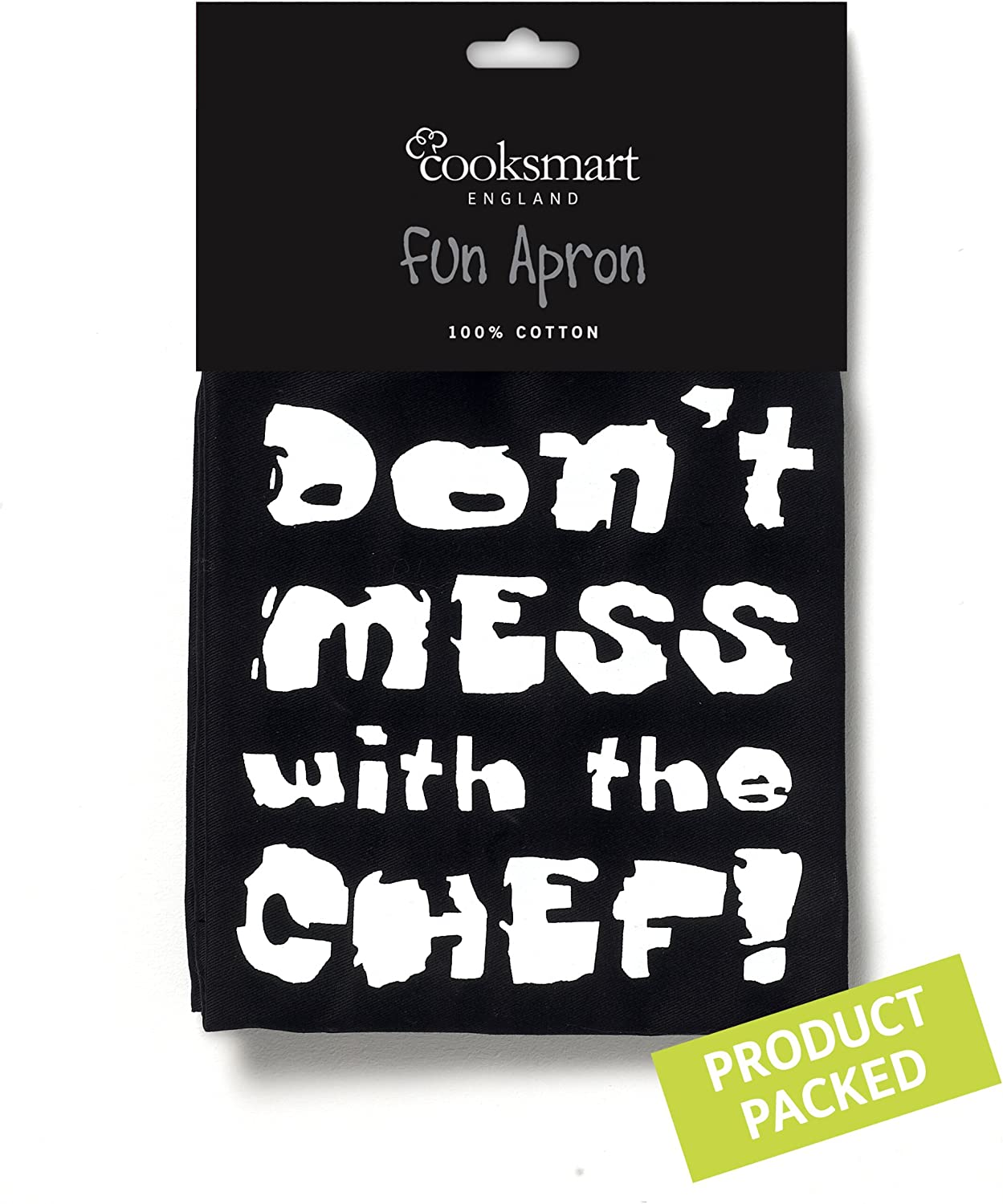 Don't Mess with the Chef Apron by Cooksmart