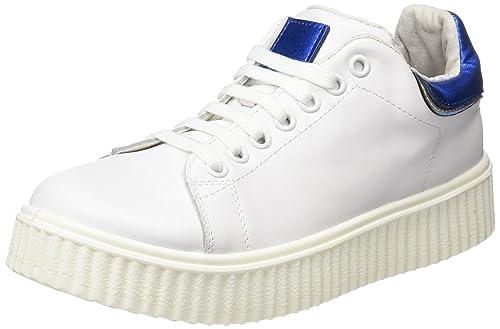 COOLWAY Betty, Zapatillas para Mujer, Blanco (White), 37 EU: Amazon.es: Zapatos y complementos