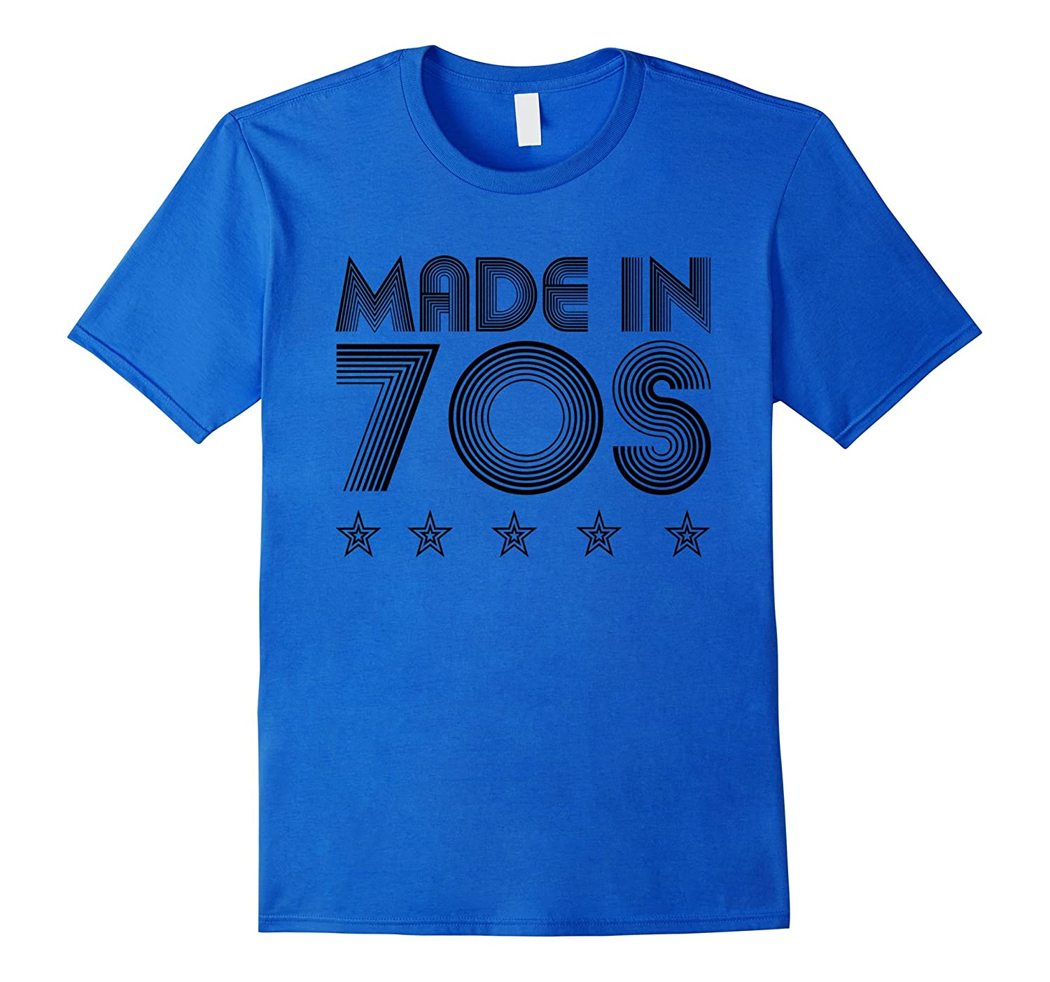 Made In 1970s Vintage 70s Birthday Gift Disco T Shirt-Art