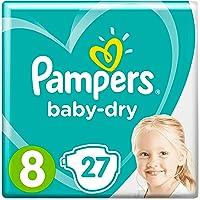 PAMPERS Baby Dry Pieluchy, rozmiar 8, 17+ kg, 27 sztuk