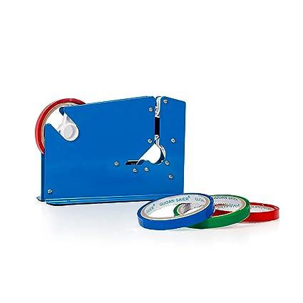 Sellador de cuello con dispensador de cinta para cortacésped de ...