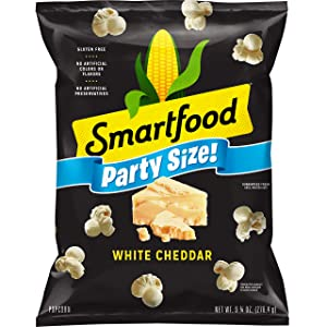 Smartfood White Cheddar Party Size, 9.75 Ounce