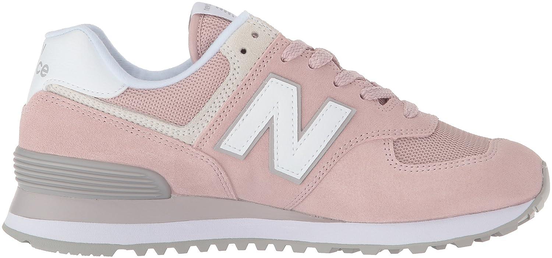 New Balance Women's 574v2 Sneaker B0719S2QJ4 5.5 D US|Faded Rose/Overcast