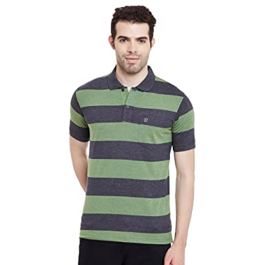 22b181ea Duke Stardust Men Cotton Blend T-Shirt Green SD25_Green_XXL: Amazon ...