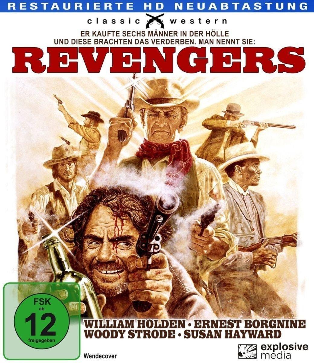 The Revengers (1972) Western