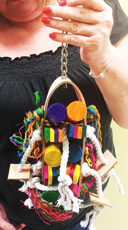Bonka Bird Toys 1219 Mixer Parrot cage Toys Cages African Grey Conures