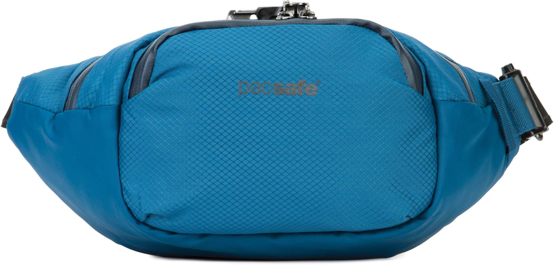 PacSafe Venturesafe X anti-theft waistpack Sport Waist Pack, 38 cm, 4 liters, Blue (Blue Steel 626) by Pacsafe